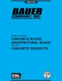 Bauer Company Blue Book